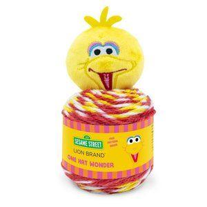 Sesame Street™ One Hat Wonder Yarn Big Bird!